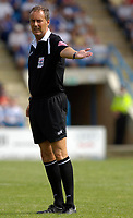 Photo: Daniel Hambury.<br />Gillingham v West Ham United. Pre Season Friendly. 29/07/2006.<br />Referee Phil Crossley.