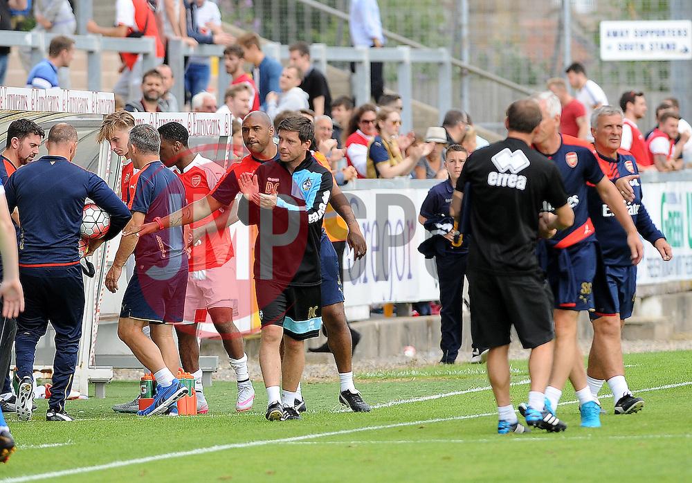 - Photo mandatory by-line: Neil Brookman/JMP - Mobile: 07966 386802 - 18/07/2015 - SPORT - Football - Bristol - Memorial Stadium - Pre-Season Friendly