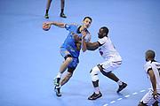 DESCRIZIONE : France Hand D1 Championnat de France D1 a Toulouse<br /> GIOCATORE : Jerome FERNANDEZ<br /> SQUADRA : Toulouse<br /> EVENTO : FRANCE Hand D1<br /> GARA : Toulouse Paris<br /> DATA : 19/10/2011<br /> CATEGORIA : Hand D1 <br /> SPORT : Handball<br /> AUTORE : JF Molliere <br /> Galleria : France Hand 2011-2012 Action<br /> Fotonotizia : France Hand D1 Championnat de France D1 a Paris <br /> Predefinita :