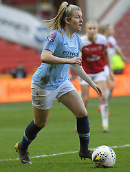 February 23, 2019 - Sheffield, England, United Kingdom - Lauren Hemp (Manchester City) in possession during the  FA Women's Continental League Cup Final  between Arsenal and Manchester City Women at the Bramall Lane Football Ground, Sheffield United FC Sheffield, Saturday 23rd February. (Credit Image: © Action Foto Sport/NurPhoto via ZUMA Press)