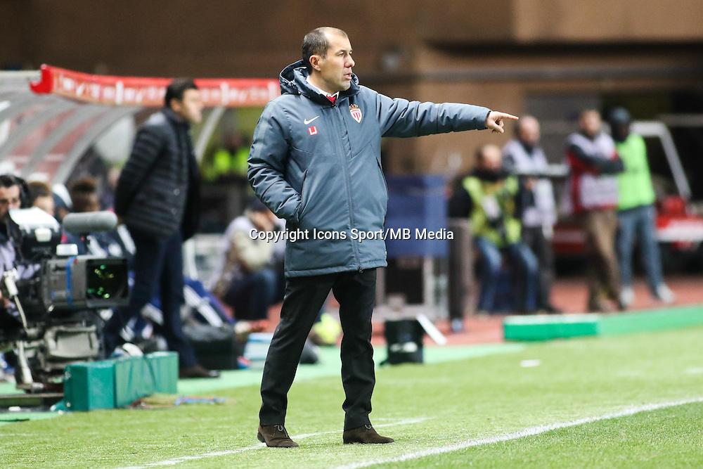 Leonardo JARDIM - 01.02.2015 - Monaco / Lyon - 23eme journee de Ligue 1 -<br />Photo : Serge Haouzi / Icon Sport