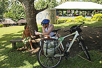 travel photography cycle touring savaii samoa