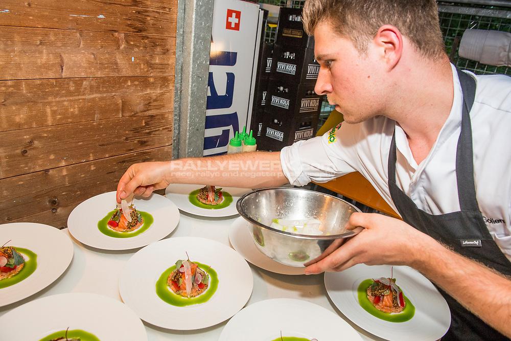 "Monday, 12th of June 2017 - An Evening with delicacies by Stefan Heilemann, Restaurant ""Ecco"", Zurich"