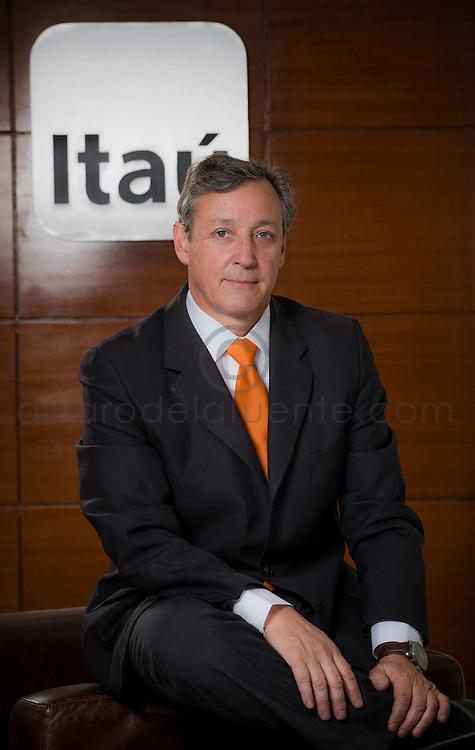 Juan Pablo Pastorino, Gerente de Productos Retail Banco Itaú Chile. Santiago de Chile, 22-05-2014 (Alvaro de la Fuente/Triple.cl)