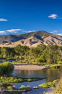 The Big Hole River near Glen, Montana, USA