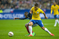 Roberto Firmino / Blaise Matuidi  - 26.03.2015 - France / Bresil - Match Amical<br />