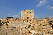 Israel, Galilee, Zippori National Park A mishnaic-period city with an abundance of mosaics The Citadel