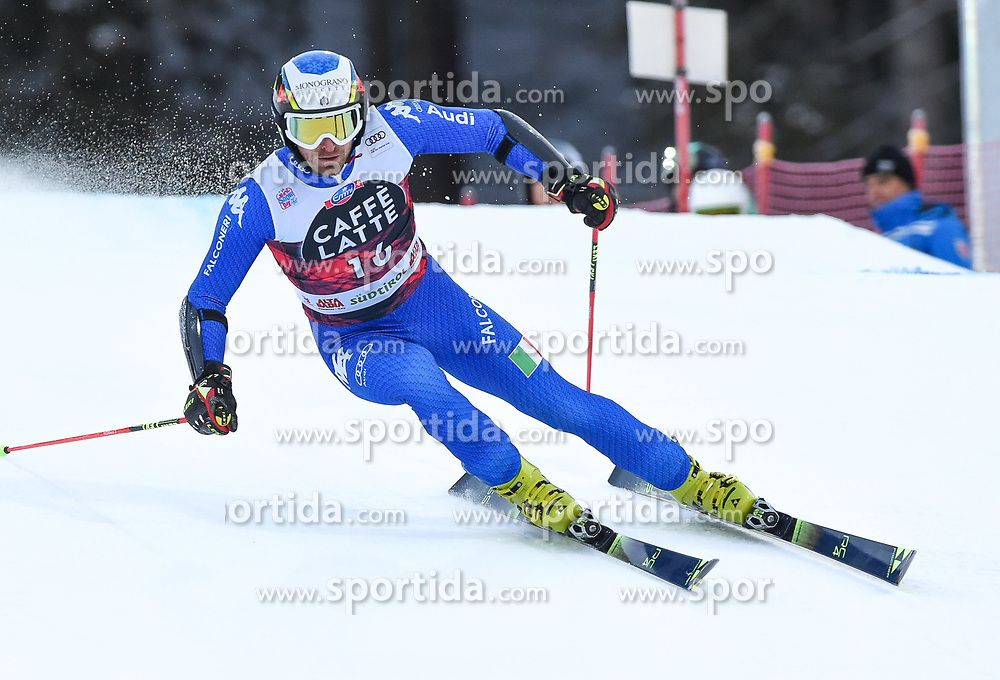 17.12.2017, Grand Risa, La Villa, ITA, FIS Weltcup Ski Alpin, Alta Badia, Riesenslalom, Herren, 1. Lauf, im Bild Manfred Moelgg (ITA) // Manfred Moelgg of Italy in action during his 1st run of men's Giant Slalom of FIS ski alpine world cup at the Grand Risa in La Villa, Italy on 2017/12/17. EXPA Pictures © 2017, PhotoCredit: EXPA/ Erich Spiess