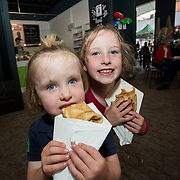 14.06.2018.             <br /> Limerick Food Group hosted the Urban Food Fest street food evening in the Milk Market on Thursday June 14th with a 'Summer Fiesta' theme in one big Limerick city summer party.<br /> <br /> Pictured at the event were, Tadgh and Cliodhna Cunneen. Picture: Alan Place