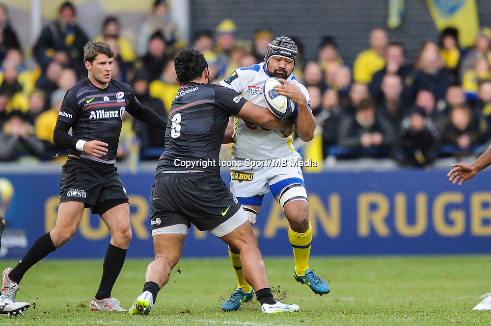 Fritz LEE - 25.01.2015 -  Clermont / Saracens - European Champions Cup <br />