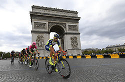 July 29, 2018 - Paris Champs-Elysees, France - PARIS CHAMPS-ELYSEES, FRANCE - JULY 29 : VAN KEIRSBULCK Guillaume (BEL) of Wanty - Groupe Gobert at the Arc de Triomphe during stage 21 of the 105th edition of the 2018 Tour de France cycling race, a stage of 116 kms between Houilles and Paris Champs-Elysees on July 29, 2018 in Paris Champs-Elysees, France, 29/07/18 (Credit Image: © Panoramic via ZUMA Press)