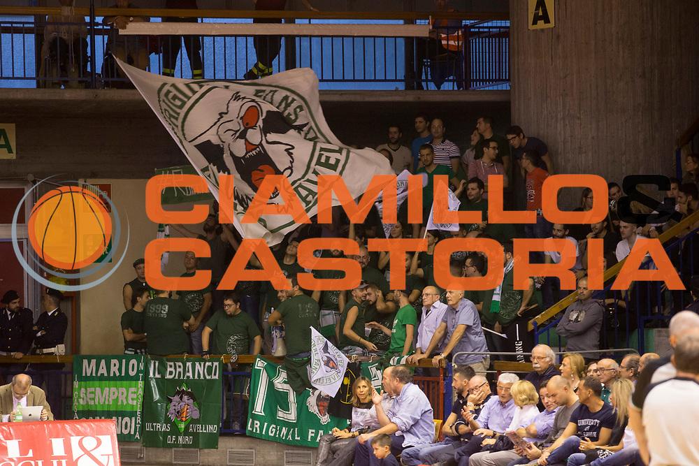 DESCRIZIONE : Reggio Emilia Lega A 2015-16 Grissin Bon Reggio Emilia Sidigas Avellino <br /> GIOCATORE : tifosi Sidigas Avellino<br /> CATEGORIA : tifosi<br /> SQUADRA : Sidigas Avellino<br /> EVENTO : Campionato Lega A 2015-2016 <br /> GARA : Grissin Bon Reggio Emilia Sidigas Avellino <br /> DATA : 11/10/2015<br /> SPORT : Pallacanestro <br /> AUTORE : Agenzia Ciamillo-Castoria/E. Rossi <br /> Galleria : Lega Basket A 2015-2016 <br /> Fotonotizia : Avellino Lega A 2015-16 Grissin Bon Reggio Emilia Sidigas Avellino