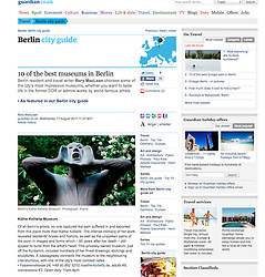 Guardian tearsheet , travel in Berlin
