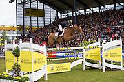 Shane Breen - Cos I Can<br /> World Equestrian Festival, CHIO Aachen 2013<br /> © DigiShots
