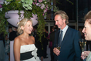 HANNELI RUPERT; MIKE RUTHERFORD, CARTIER CHELSEA FLOWER SHOW DINNER Dinner hosted by Cartier in celebration of the Chelsea Flower Show was held at Battersea Power Station. 22 May 2012