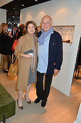JILL RITBLAT and ROLF SACHS at the PAD London 2015 VIP evening held in the PAD Pavilion, Berkeley Square, London on 12th October 2015.