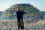 B. Jane Cowie - Swirling Surround - Sculpture By The Sea, Cottesloe 2018 - Photograph by David Dare Parker