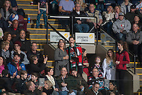KELOWNA, CANADA - FEBRUARY 13: Game host Brian Mac on February 13, 2017 at Prospera Place in Kelowna, British Columbia, Canada.  (Photo by Marissa Baecker/Shoot the Breeze)  *** Local Caption ***