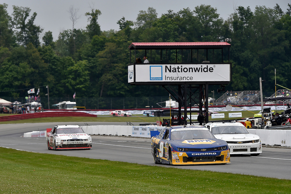 15-16 August, 2014, Lexington, Ohio USA<br /> Chase Elliott, Alex Tagliani<br /> &copy;2014, Scott R LePage <br /> LAT Photo USA