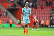 Marcos Alonso (3) of Chelsea during the Premier League match between Southampton and Chelsea at the St Mary's Stadium, Southampton, England on 7 October 2018.