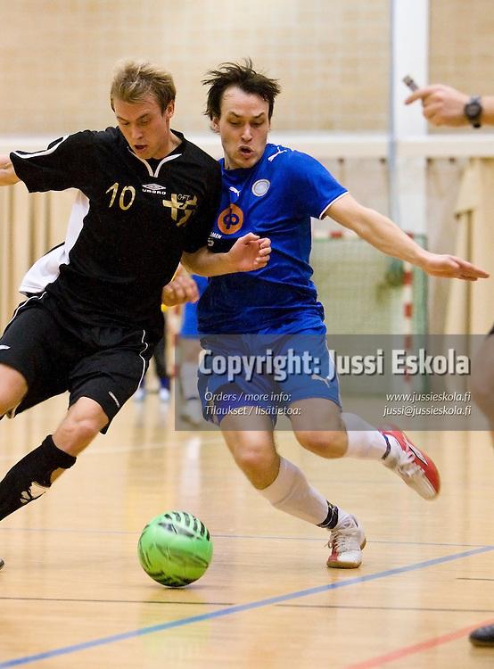 GFT-PoPa. Futsal-liiga. Leppävaara 9.2.2008. Photo: Jussi Eskola