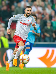 03.05.2018, Red Bull Arena, Salzburg, AUT, UEFA EL, FC Salzburg vs Olympique Marseille, Halbfinale, Rueckspiel, im Bild Munas Dabbur (FC Salzburg) // during the UEFA Europa League Semifinal, 2nd Leg Match between FC Salzburg and Olympique Marseille at the Red Bull Arena in Salzburg, Austria on 2018/05/03. EXPA Pictures © 2018, PhotoCredit: EXPA/ JFK