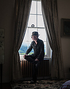 Alan McGee at his home in Mid Wales<br />