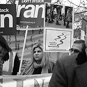 Stop the War in Iran Rally in London