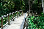 Walkway and bridge, Krka National Park, Croatia