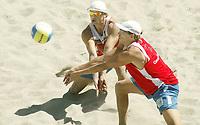 Volleyball, Sandvolleyball, World Tour Stavanger, Grand Slam, 30/06-05,<br />Iver Horrem - Bård Inge Pettersen,<br />Foto: Sigbjørn Andreas Hofsmo, Digitalsport