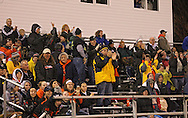 Springville fans cheer during their game at Allison Field in Springville on Friday October 19, 2012. Midland defeated Springville 30-29.