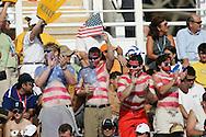 Waterpolo AUS - USA  (5:6) Bronze Medal Match, Women....USA Fans....Photo by PATRICK B. KRAEMER (Photo by Patrick B. Kraemer / MAGICPBK)
