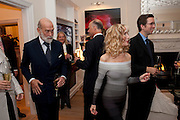 PRINCE MICHAEL OF KENT; BASIA BRIGGS, Mrs. Richard Briggs at home.  Sloane Gardens. London. 20 October 2011. <br /> <br />  , -DO NOT ARCHIVE-© Copyright Photograph by Dafydd Jones. 248 Clapham Rd. London SW9 0PZ. Tel 0207 820 0771. www.dafjones.com.