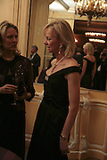 Mrs. Arnaud Bamberger and the Countess of Derby, Cartier Racing Awards , Four Seasons Hotel, Hamilton Place, London, W1, 15 November 2006. ONE TIME USE ONLY - DO NOT ARCHIVE  © Copyright Photograph by Dafydd Jones 66 Stockwell Park Rd. London SW9 0DA Tel 020 7733 0108 www.dafjones.com