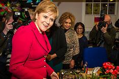 Nicola Sturgeon campaigns against Rape Clause | Edinburgh | 25 April 2017
