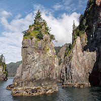 Islands at Porcupine Cove, Kenai Fjords National Park, Alaska