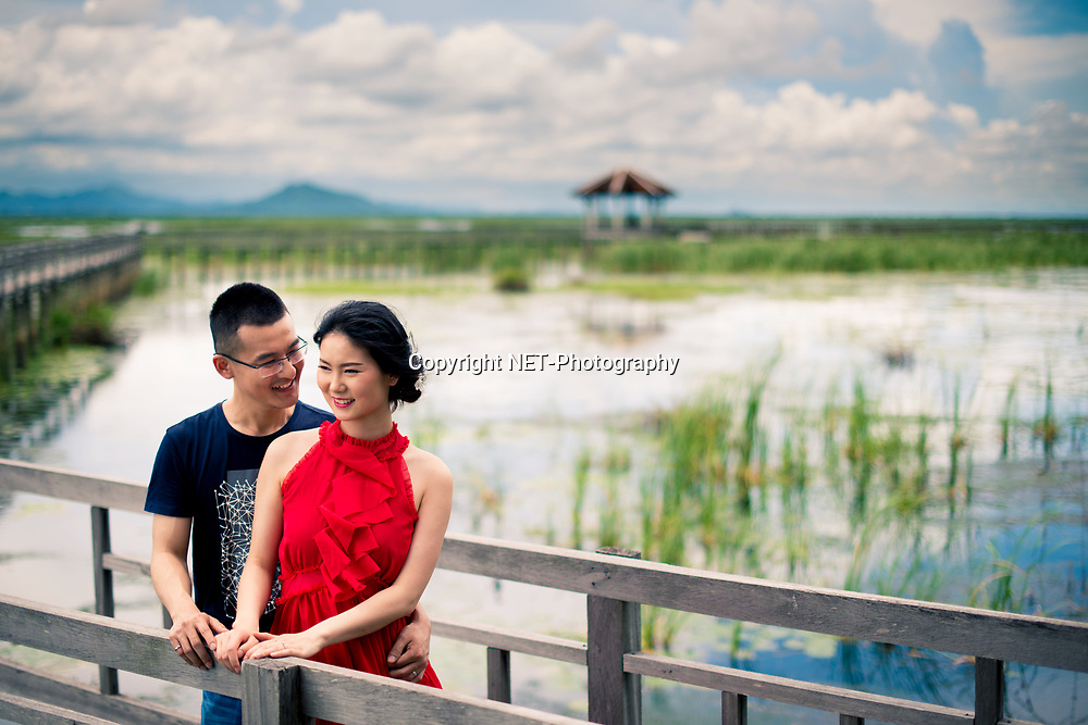 Hua Hin Thailand - Jojo &amp; Richard's pre-wedding (prenuptial, engagement session, couple, honeymoon, post-wedding) at Khao Sam Roi Yot National Park (Nature Study Center Bung Baw) in Hua Hin, Thailand.<br /> <br /> Photo by NET-Photography.<br /> info@net-photography.com<br /> <br /> View this album on our website at http://thailand-wedding-photographer.com/hua-hin-beach-khao-sam-roi-yot-national-park-pre-wedding-photography/?utm_source=photoshelter&amp;utm_medium=link&amp;utm_campaign=photoshelter_photo<br /> <br /> NET-Photography | Hua Hin Wedding Photographer<br /> Thailand Professional Wedding Photography Service