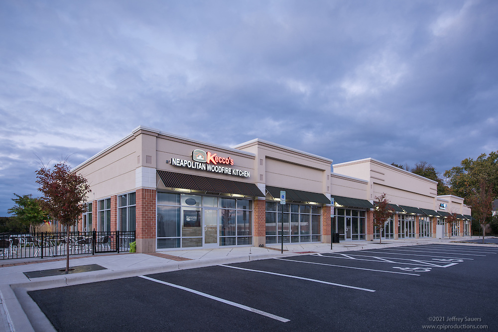 Architectural Image of Reisterstown Crossing in Maryland by Jeffrey Sauers of Commercial Photographics, Architectural Photo Artistry in Washington DC, Virginia to Florida and PA to New England