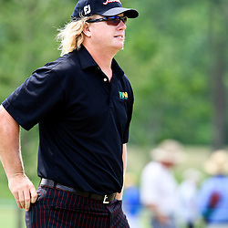 2009 April 26: Charlie Hoffman of Las Vegas, NV on the eighth hole during the final round of the Zurich Classic of New Orleans PGA Tour golf tournament played at TPC Louisiana in Avondale, Louisiana.