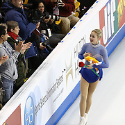 Gracie Gold competes during the championship ladies free skate at the 2014 US Figure Skating Championships at the TD Garden on January 11, 2014 in Boston, Massachusetts.