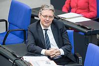 21 MAR 2019, BERLIN/GERMANY:<br /> Achim Post, MdB, SPD, Bundestagsdebatte zur Regierungserklaerung der Bundeskanzlerin zum Europaeischen Rat, Plenum, Deutscher Bundestag<br /> IMAGE: 20190321-01-125