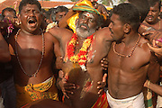 Sri Lanka. Earlier that afternoon, Duryodhan will be walked around the precinct of the temple, surrounded by the village people shouting out ?Govinda Govinda? In a deep trance after his battle with Bhima, he is finally brought out of his trance inside the temple.