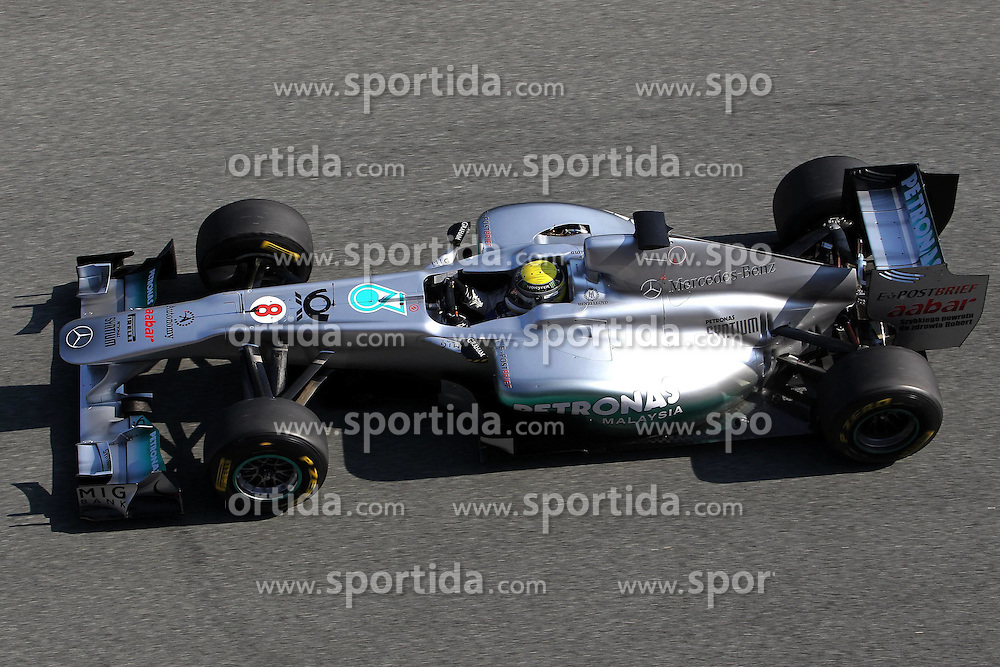 10.02.2011, Street Circuit. Jerez, ESP, Formel 1 Test 2 Valencia 2011,  im Bild Nico Rosberg (GER), Mercedes GP .EXPA Pictures © 2011, PhotoCredit: EXPA/ nph/   poleposition.at       only for Aut and SLO