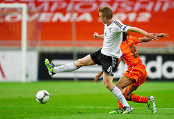 Nico Brandenburger of Germany during the UEFA European Under-17 Championship Final match between Germany and Netherlands on May 16, 2012 in SRC Stozice, Ljubljana, Slovenia. (Photo by Vid Ponikvar / Sportida.com)