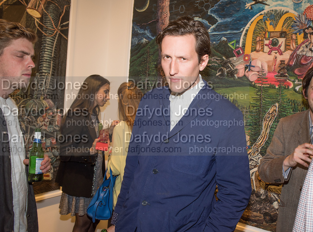 HENRY HUDSON, Henry Hudson: The Rise and Fall of Young Sen – The Contemporary Artist's Progress - private view. S2,  Sothebys 31 St George Street, London