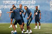 Neymar during Brazil training on June 19, 2018 at Yug-Sport Stadium in Sochi, Russia - Photo Tarso Sarraf / FramePhoto / ProSportsImages / DPPI