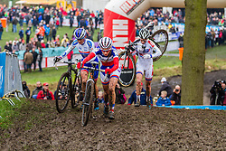 Pauline Ferrand Prevot (FRA), Women, Cyclo-cross World Cup Hoogerheide, The Netherlands, 25 January 2015, Photo by Thomas van Bracht / PelotonPhotos.com