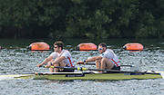 Caversham, Nr Reading, Berkshire.<br /> <br /> GBR M2-, Left, Matt TARRANT and Nathaniel REILLY-O'DONNELL. Olympic Rowing Team Announcement morning training before the Press conference at the RRM. Henley.<br /> <br /> Thursday  09.06.2016<br /> <br /> [Mandatory Credit: Peter SPURRIER/Intersport Images]