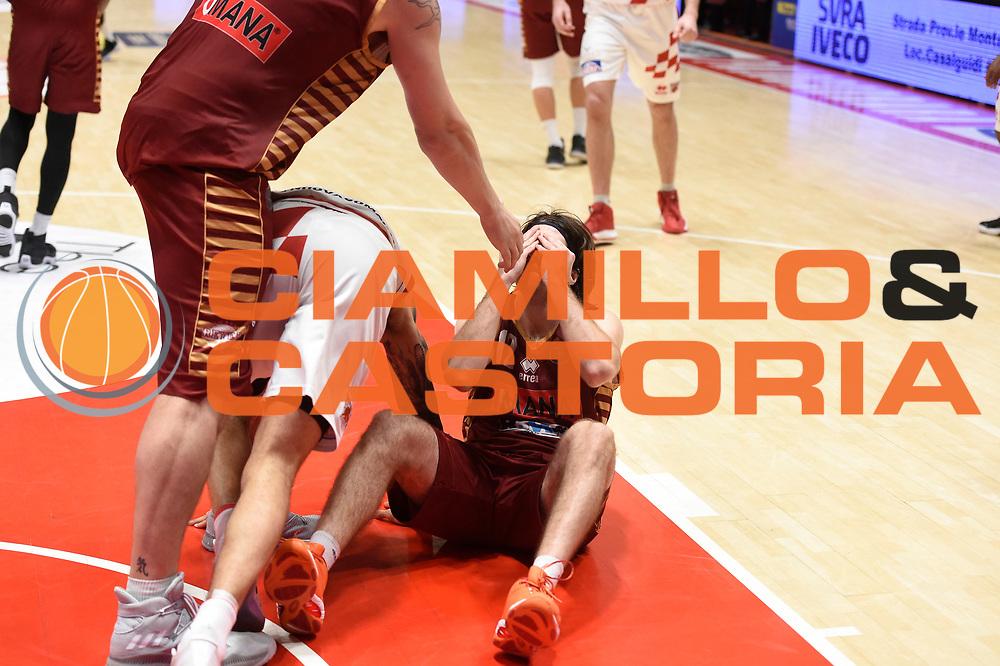 Ariel Filloy<br /> UThe Flexx Pistoia vs Umana Reyer Venezia<br /> Lega A  2016/2017 Quarti di finale Gara 3<br /> Milano 17/05/2017<br /> Foto Ciamillo-Castoria<br /> Provvisorio