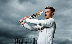 Surrey's Sam Curran poses for a photograph following the media day at the Kia Oval, London. PRESS ASSOCIATION Photo. Picture date: Monday April 16, 2018. See PA story CRICKET Surrey. Photo credit should read: John Walton/PA Wire
